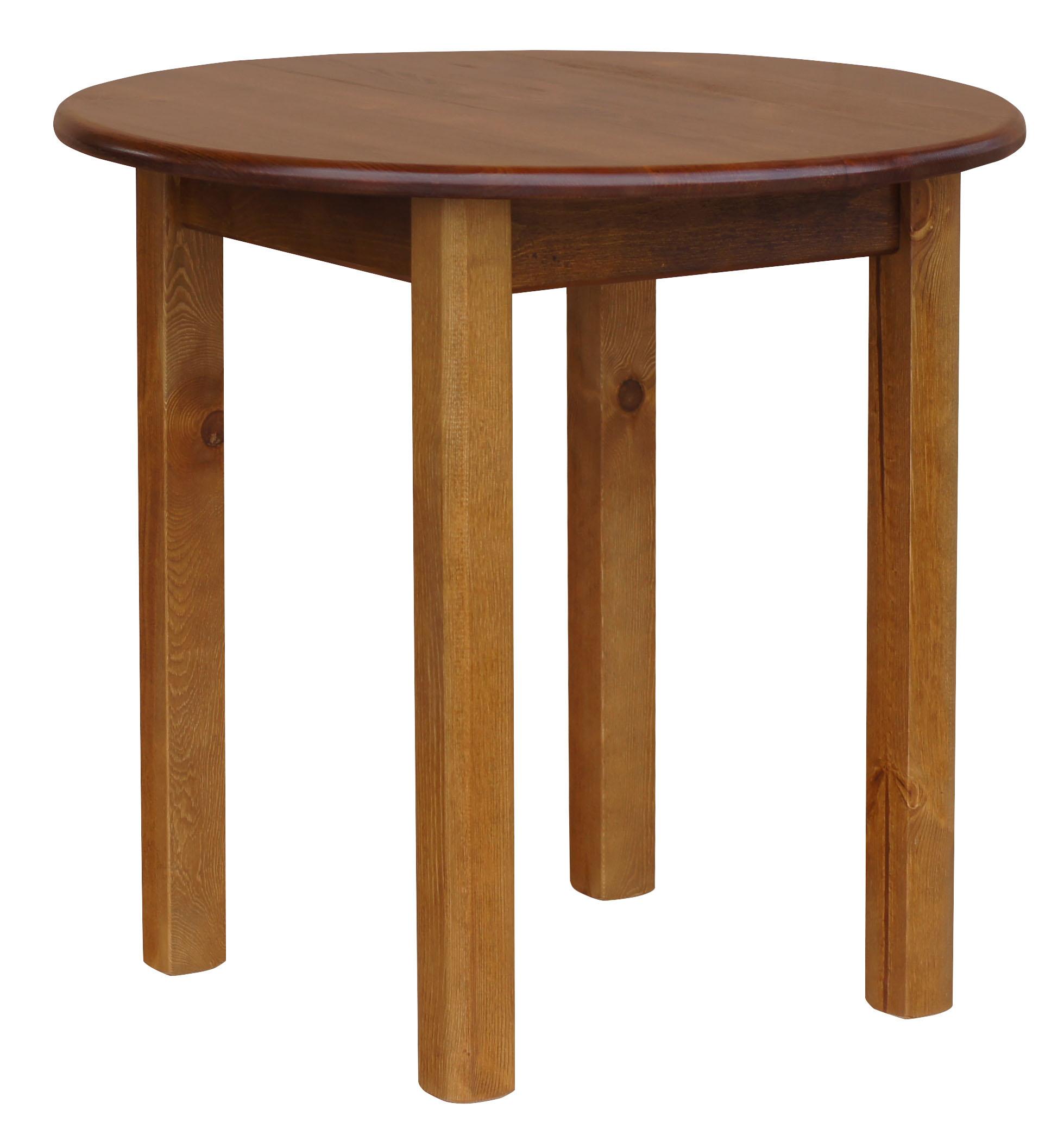 Runder kiefer tisch esstisch k chentisch speisetisch for Runder tisch wohnzimmer