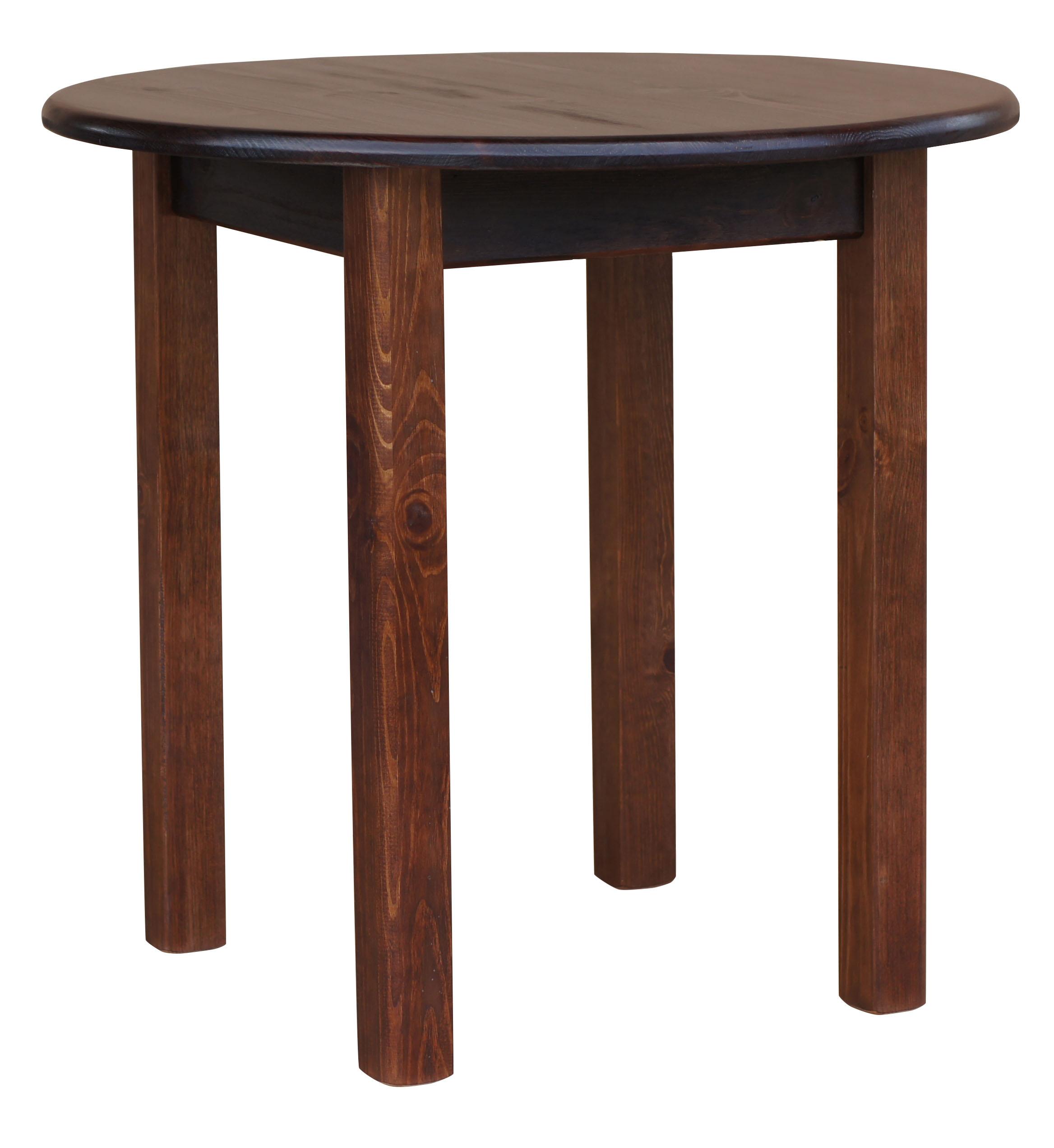 Runder Tisch Holz ~ Wohndesign & Möbel Ideen