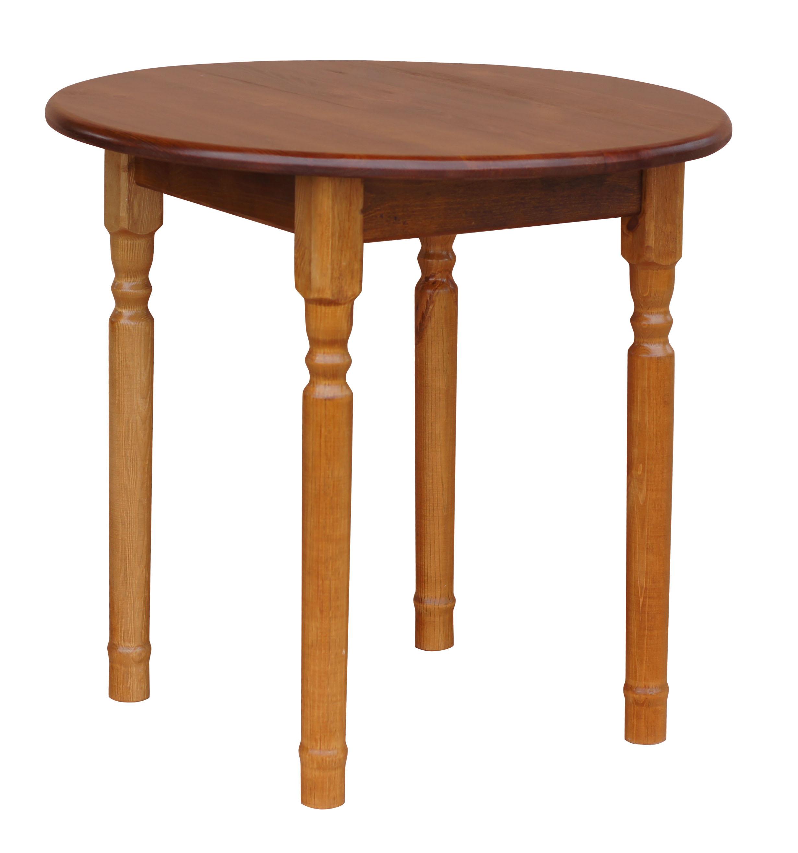 Runder Kiefer Tisch Esstisch Küchentisch Speisetisch